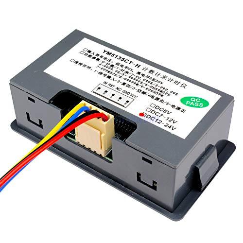 """0,56 /""""Led Digital Rojo Reversible contador Medidor Up /& Down dc12-24v Alta Calidad"""