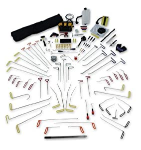 360pc. PDR Tools - Paintless Dent Repair Tools - PDR Auto Body Tools & Equipment