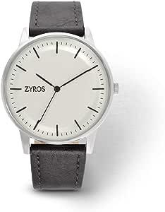 زايروس ساعة رسمية للرجال ، انالوج بعقارب - Z9017M110218