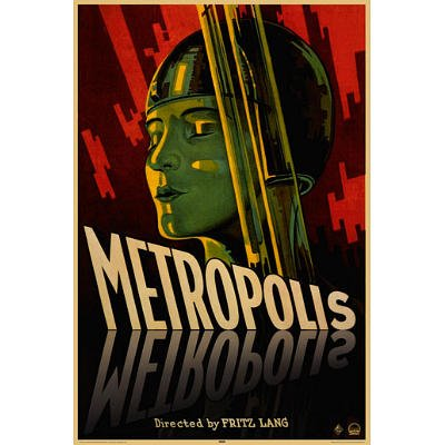 Fritz Lang Metropolis Classic Silent Movie PAPER POSTER meas