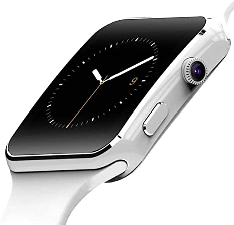 Amazon.com: X6 Bluetooth Smart Watch For Android IOS iPhone ...