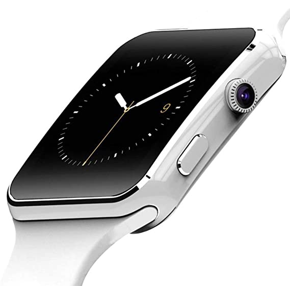 159f95029af Image Unavailable. Image not available for. Color  X6 Bluetooth Smart Watch  For Android IOS iPhone ...