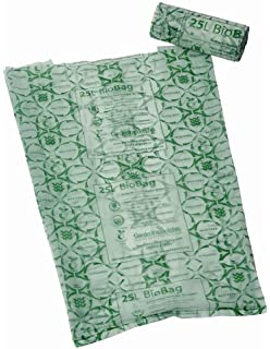 25 litre u0026 compostable bin liners or biobags roll 25
