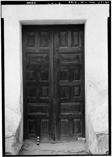 Photo: San Xavier del Bac Mission,Mission Road,Tucson,Pima County,Arizona,AZ,HABS,51