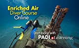 PADI Online Enriched Air Diver Course Scuba Diving eLearning Nitrox Certification On Line Classroom Dive Books