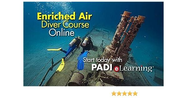 Amazon.com : PADI Online Enriched Air Diver Course Scuba Diving ...