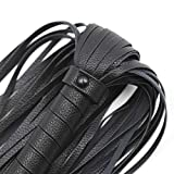 STTQYB Soft Faux Leather Harness Handle Whip