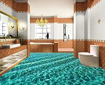 3d Fußboden Aufkleber ~ Kuamai fototapete d bodenbelag malerei dazzling unterwasserwelt