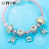 12 Zodiac Sign Charms for Charm Bracelets - 925