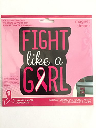 Breast Cancer Awareness Magnet (Cancer Breast Car Ribbon Magnet)