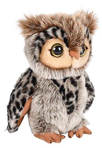 ffed Eagle Owl Plush Floppy Animal Heirloom Collection ()