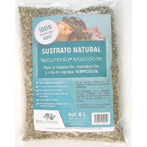 Naturonia Sustrato Natural de Vermiculita para Reptiles, 6 litros 01