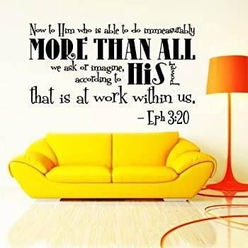 Amazoncom Wall Decals Quotes Bible Verse Psalm Isaiah So - Wall decals quotes bible