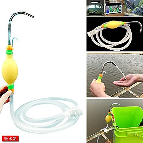 Manual de Bombeo del Tubo de aspiración Pesca del Tanque de Agua Dispositivo de absorción de Camping al Aire Libre Pesca: Amazon.es: Deportes y aire libre