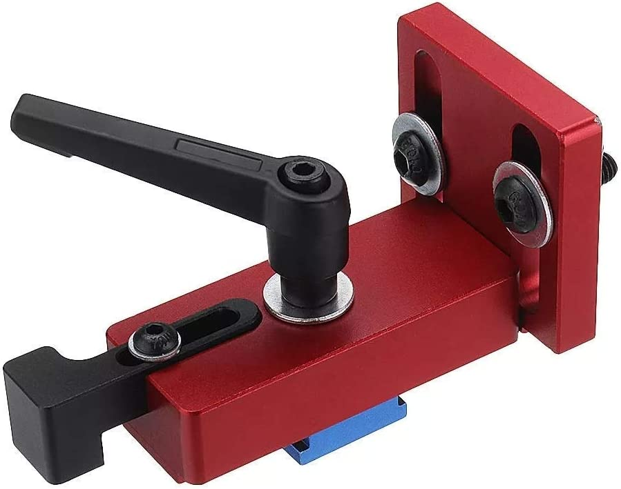 CSJ-CSJ Woodworking kit T-Track T-Slot Quick Acting Hold Down Clamp Set Woodworking Clamp Clamp for Woodworking Durable
