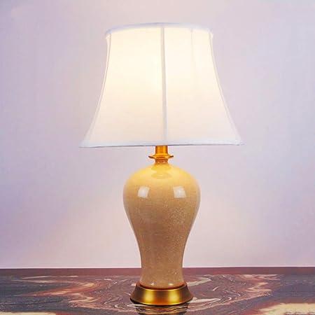 Wyyggnb Lámpara de Mesa, lámpara de mesilla de Noche, Escritorio ...