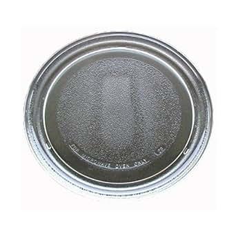 "Sunbeam Microwave Glass Turntable Plate / Tray 9 3/4"""