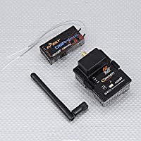 FrSky DJT 2.4Ghz Combo Pack for JR w/ Module With D8R-II Plus Receiver