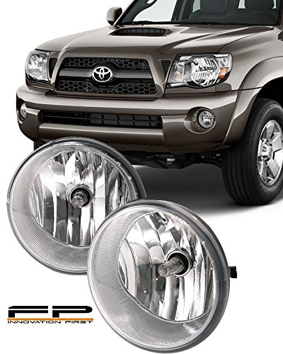For 2005-2011 Toyota Tacoma Car Accessoires Car Front Fog Lamp Light Refit 1set Black from RuiDi