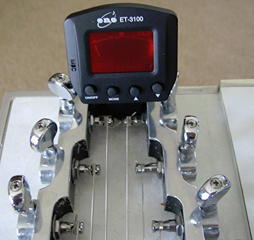 (Pedal or Lap Steel Guitar Clip On Tuner)
