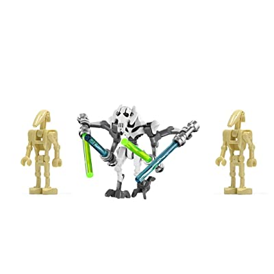 LEGO General Grievous and 2 Droids New Star Wars Figures: Toys & Games