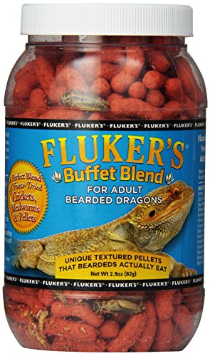 Fluker's Buffet Blend Adult Bearded Dragon Formula, 2.9 Ounce