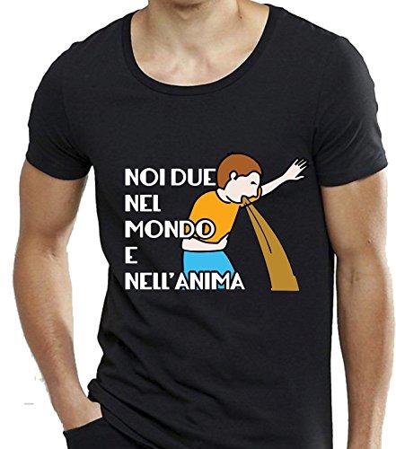 Social Crazy - Camiseta - para hombre negro