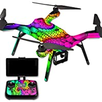 MightySkins Protective Vinyl Skin Decal for 3DR Solo Drone Quadcopter wrap cover sticker skins Hallucinate