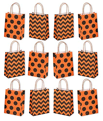 Halloween Paper Craft Party Gift Goodie Bags, Pack