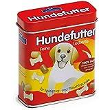 Comida para perros Erzi en latas, comida para perros juguetes, accesorios de tienda