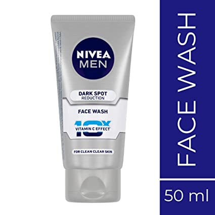 Nivea Men Dark Spot Reduction Facewash, 50g