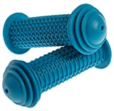 PROMETHEUS Kids Bike Grips 1 Pair in blue | Bicycle Handlebar Grips with ...