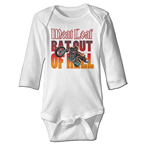 Price comparison product image Baboy Meat Loaf Band For 6-24 Months Baby Romper Jumpsuit 24 Months White