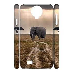 Elephant Custom 3D Cover Case for SamSung Galaxy S4 I9500,diy phone case ygtg525814 by icecream design