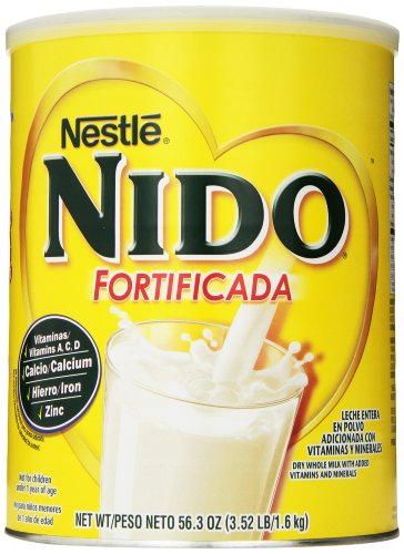 Nestle NIDO Fortificada Dry Milk, 3.52 Pound (Milk Powder)