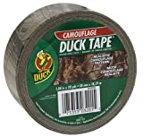 Duck Brand 00-03201-01 Camouflage Colored Duct Tape, 1.88-Inch by 20 Yards, Single Roll
