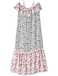 Amy Byer Big Girls' Twin Print Maxi Dress with Flounce