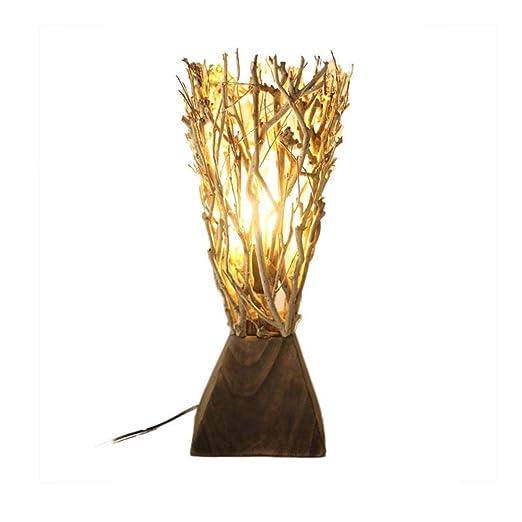 de Lámparas Antiguas de Hechas Luces a Mano MXK Lampe Mesa 5jL4AR3