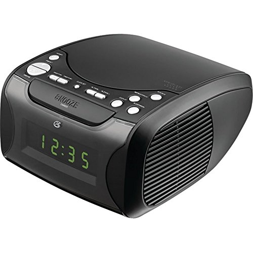 GPX CC314B Dual Alarm CD Clock Radio - Black - NINETY DAYS Warranty  90s clocks | Clock – Oh What A Night (December 1963) HD 515pYHrOqJL