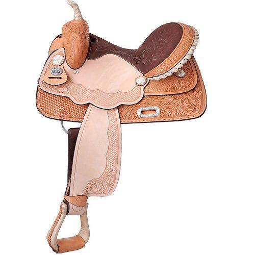 UPC 688499421478, Silver Royal La Mesa Barrel Saddle