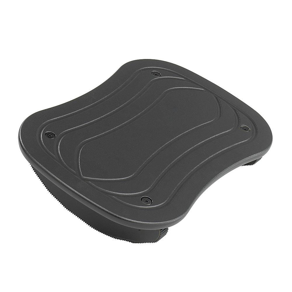 Safco Home Office Foot Rocker Footrest, Black-BL 11.5x7.5x3.5 in 5 Pack