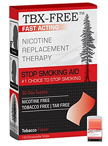 Aid One Month Supply Tobacco Quit Smoking Aid Stop Smoking 120 Strips