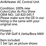 CHENDGE2 New Fresh Air&Heater AC Control Unit Panel