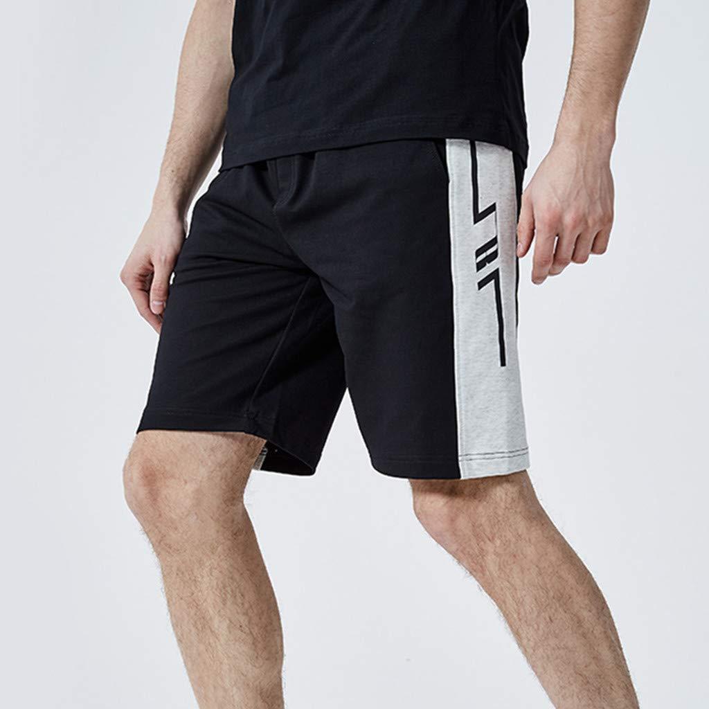 VonVonCo Fashion Mens Casual Plain Color Sports Shorts Home Pants S-2XL