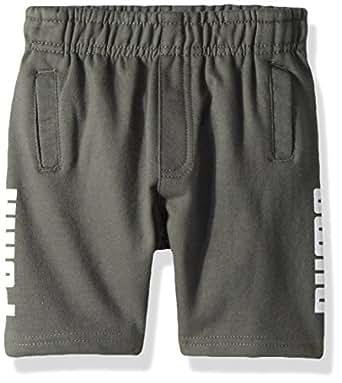 PUMA Toddler Boys' Tayio Shorts, Castor Grey, 2T