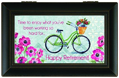 Carson Home Accents Music Box, Happy Retirement
