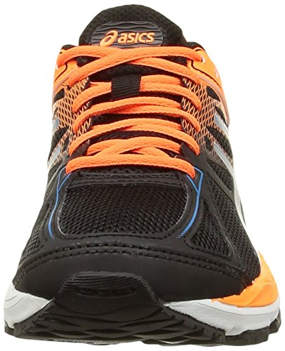 Shoes Flash Black Running Methyl Asics Unisex Coral Cumulus Gel Gs Kids' 17 9042 Black Blue C0qq71xwA