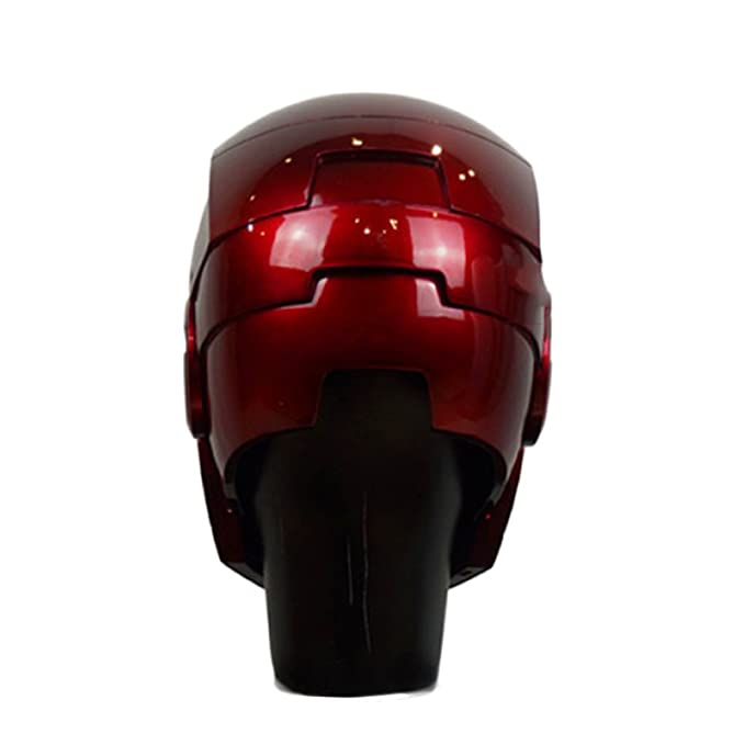 Iron Man Casco MK46 MK7 Inteligencia Artificial 1/1 Real Halloween Cospolay Casco Apertura Y Cierre Eléctrico Mando A Distancia Inalámbrico Usable Edición ...