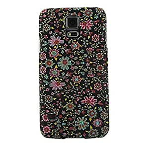 Zaki- Colorful Small Flower Design Pattern Hard Case for Samsung Galaxy S5 I9600
