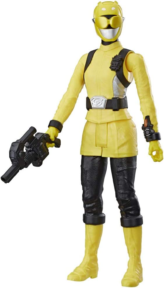 Power Rangers-E6202ES1 BM Yellow Ranger E6202ES1 Multicolore